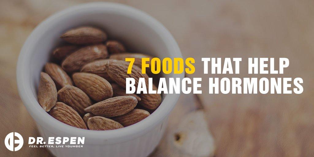 7 Foods that Help Balance Hormones