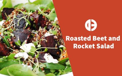 Roasted Beet and Rocket Salad