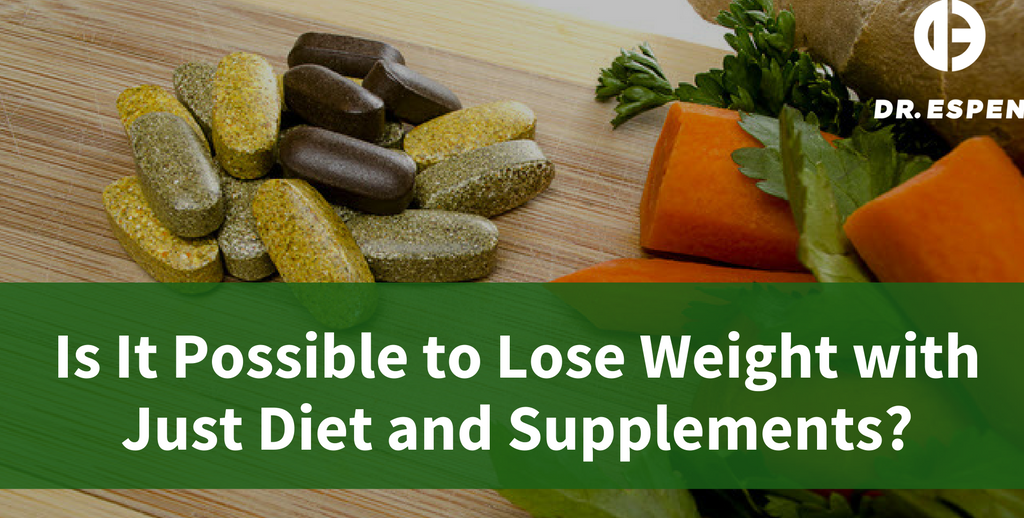 Is It Possible to Lose Weight with Just Diet and Supplements?